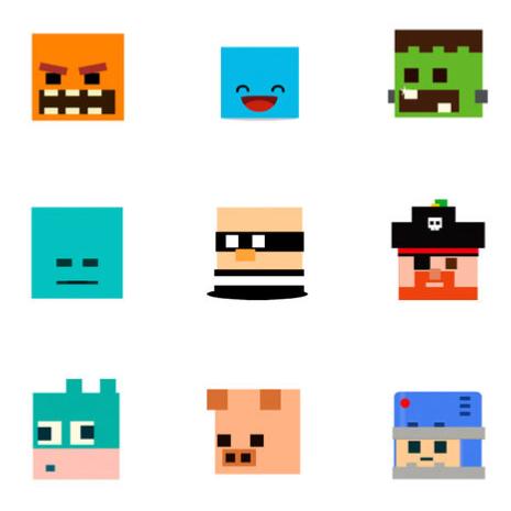 TowerDash iOS Sticker Pack