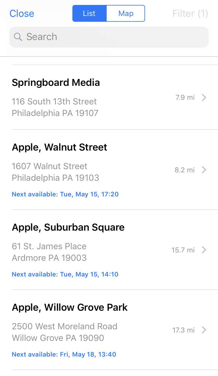 Apple Support app 7 iPhone iOS