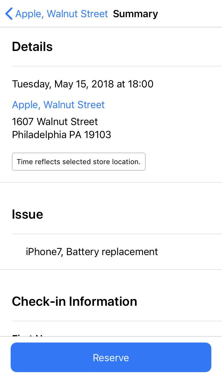 Apple Support app 9 iPhone iOS