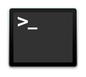 Applications Utilities Terminal icon