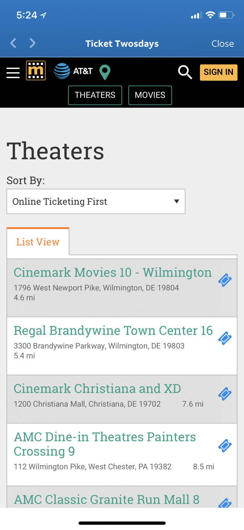 How to get free movie tickets, magazine subscriptions and other rewards from the AT&T Thanks app for iPhone and iPad.