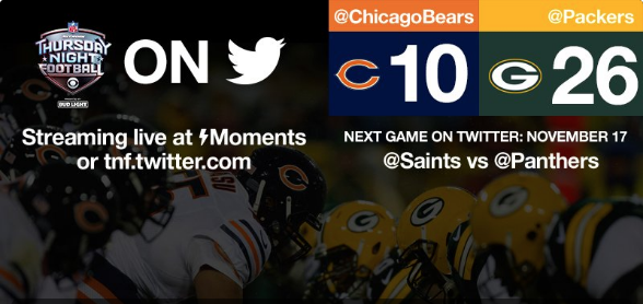 How to watch Thursday Night Football on your iPhone or iPad with Twitter.