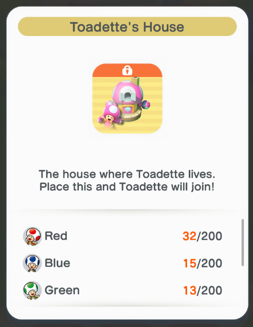 Toadette's House