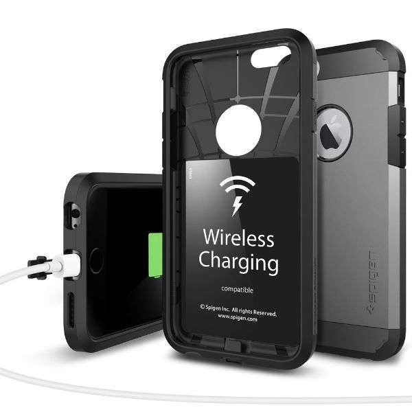 spigen releases iphone 6s case with qi wireless charging. Black Bedroom Furniture Sets. Home Design Ideas