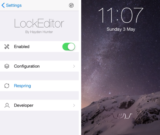 tweak LockEditor
