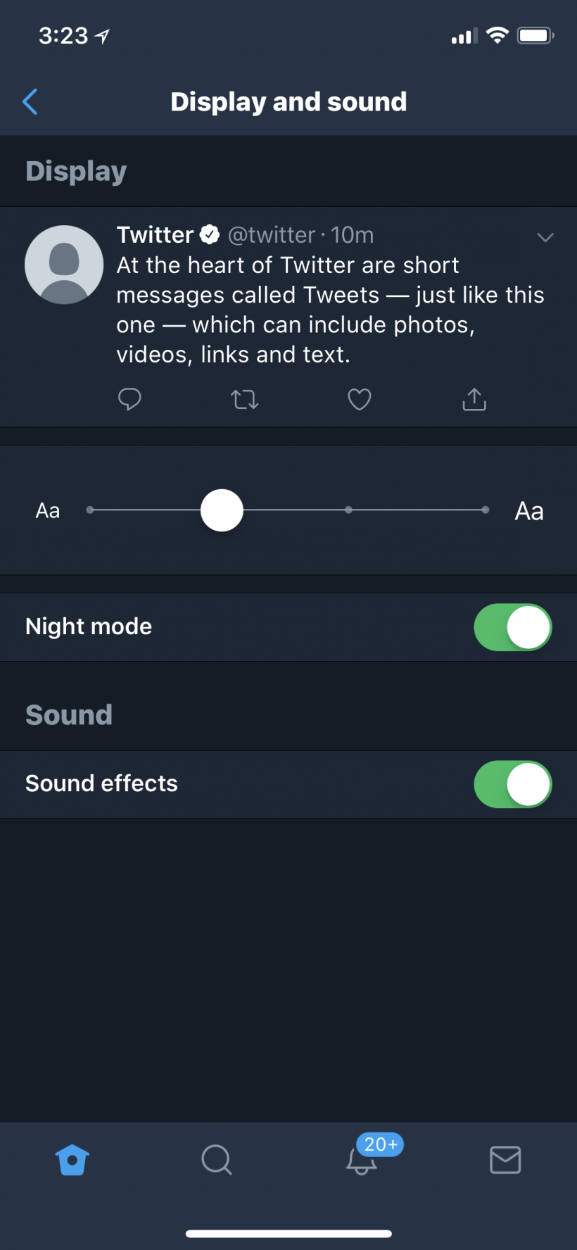 How to turn on dark mode on Twitter on iPhone and iPad.