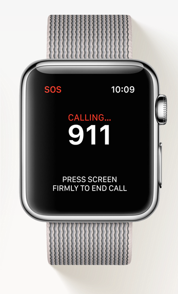 How can I make an emergency call on Apple Watch? | The ...