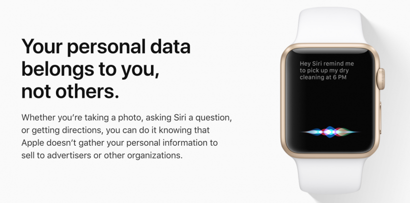 Apple Watch privacy
