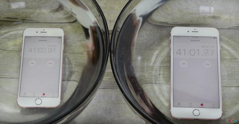 iPhone 6s iPhone 6s Plus underwater