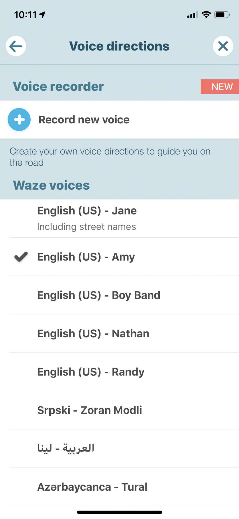How to stop Waze from talking so much on iPhone.