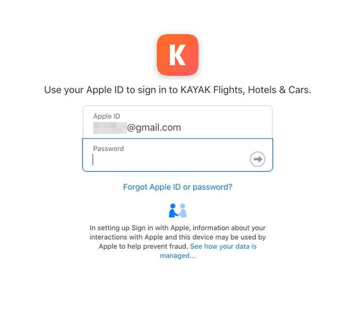 Sign in with Apple 8