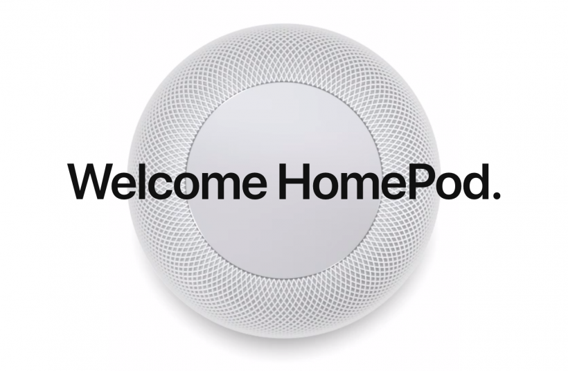 Welcome HomePod