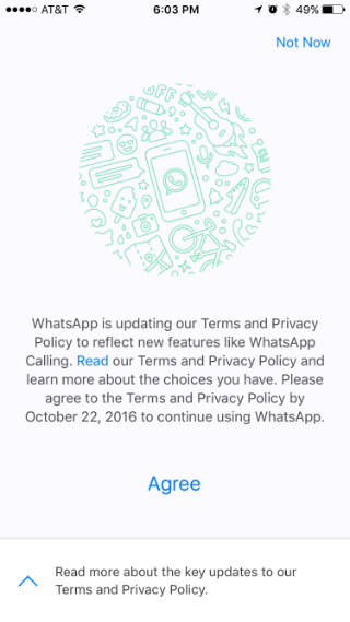 How to stop WhatsApp from sharing your phone number with Facebook.