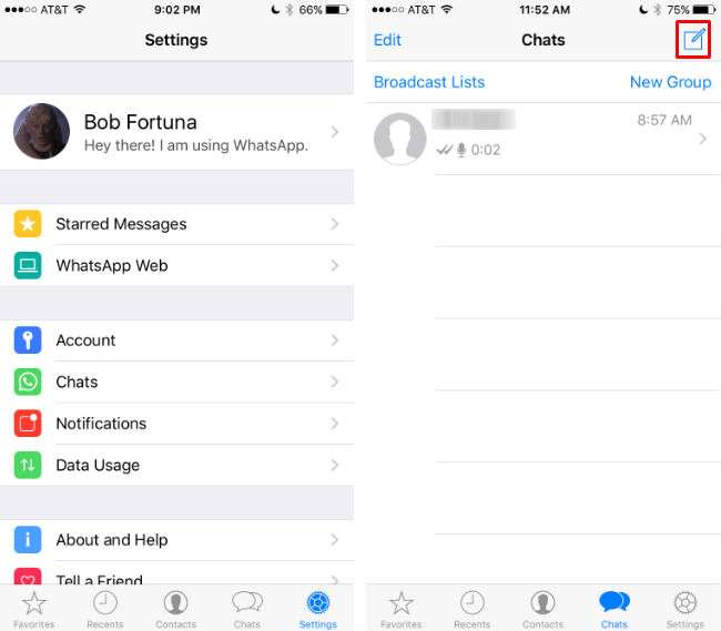 How to use WhatsApp on iPhone.