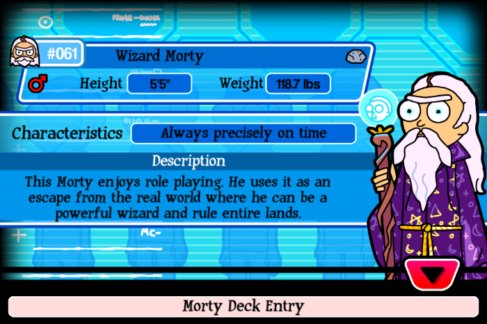 Wizard Morty