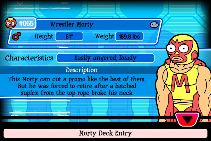 Wrestler Morty
