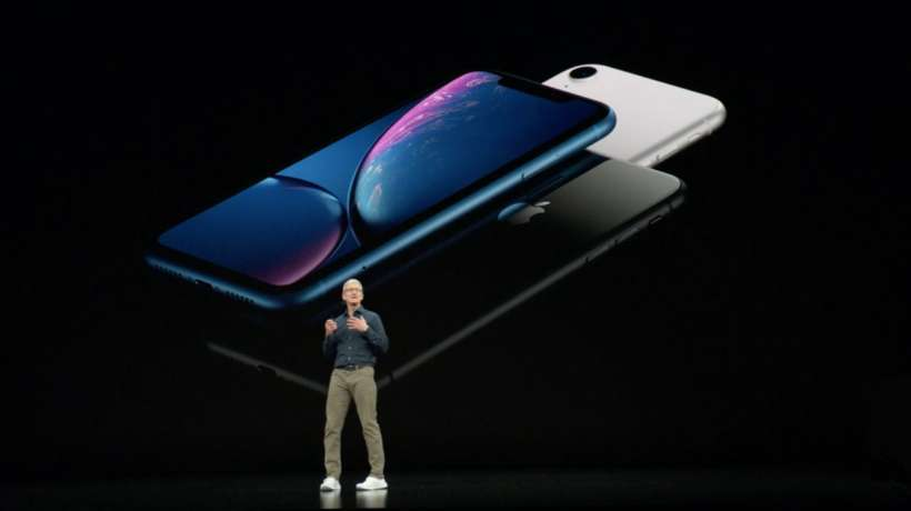 iPhone XR announce