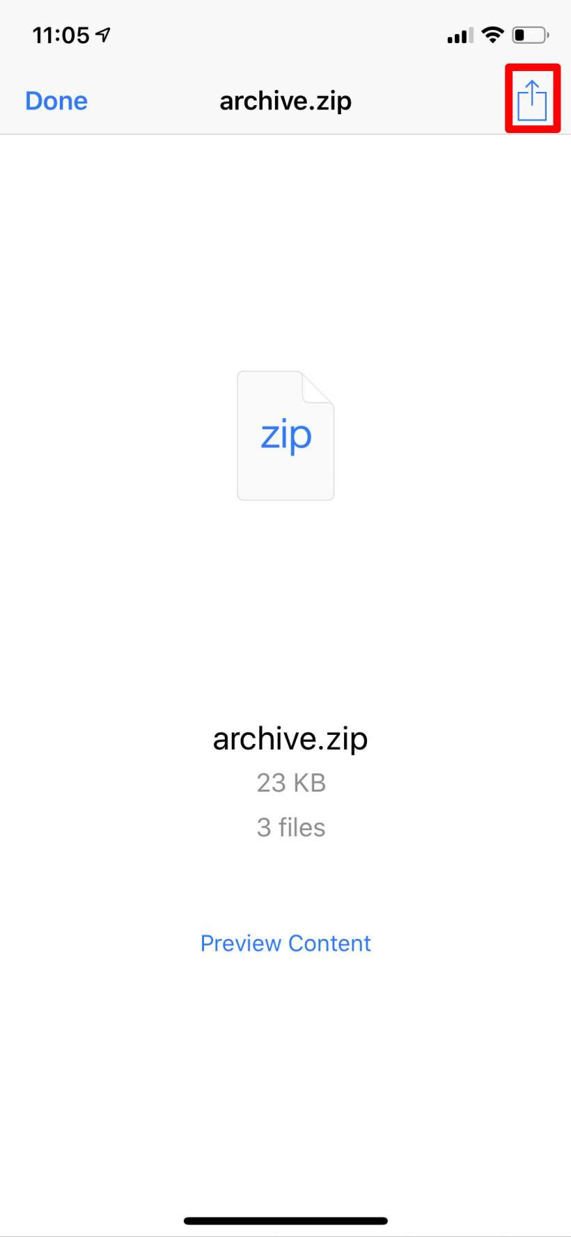 How to quickly extract zip files on your iPhone | The iPhone FAQ