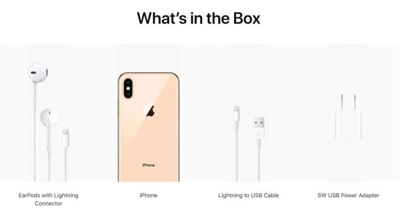 check out a5f01 3398b Does the iPhone XS Max come with a charger? | The iPhone FAQ