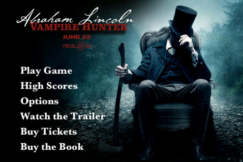 Play The Free Abraham Lincoln Vampire Hunter Game Before
