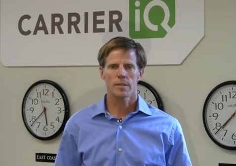 Carrier IQ CEO Larry Lenhart