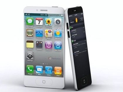 iPhone 5 teardrop