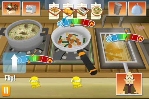 Order up to go is a fun and addictive free iphone game for Order food to go