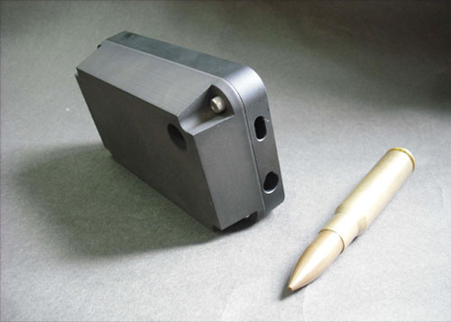 accessory bulletproof case Case para iPhone 4S promete parar balas de metralhadora.