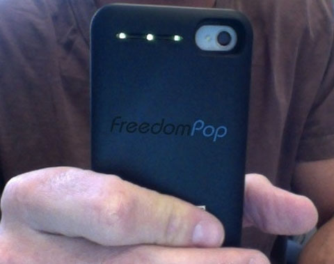FreedomPop iPhone case free 4G