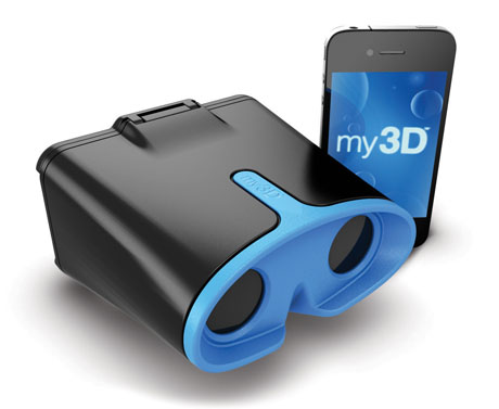 iPhone Hasbro MY3D viewer apps