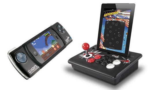 iCade mobile device gaming