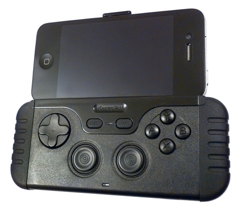 iControlPad iOS gaming controller