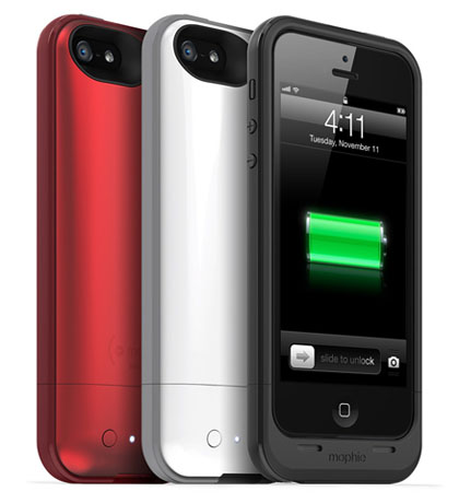 iPhone 5 Mophie battery