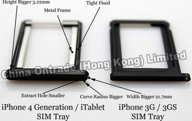 iphone 3G sim tray