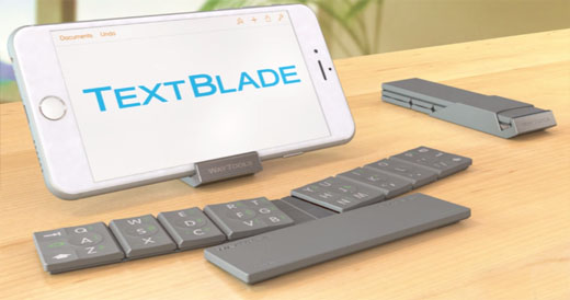 TextBlade mobile keyboard
