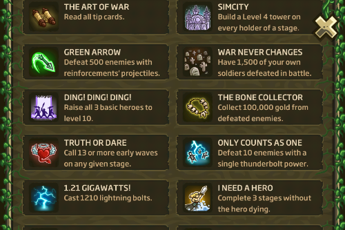 "Kingdom Rush Origins Achievement""  title="