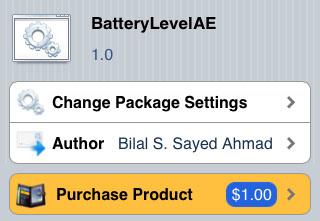 BatteryLevelAE Siri battery extensions