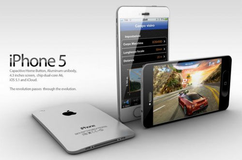 iPhone 5 concept ADR studio