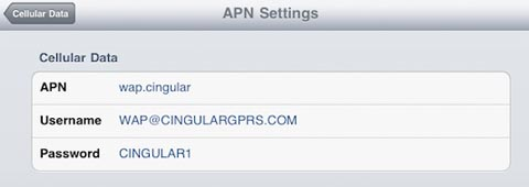 apple iphone data plan on ipad 3g