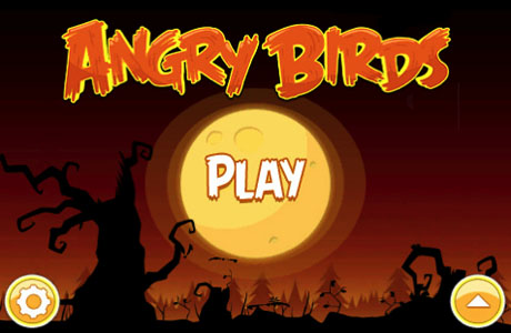 apple iphone app angry birds halloween