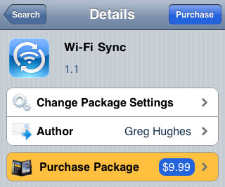 wireless syncing iPhone