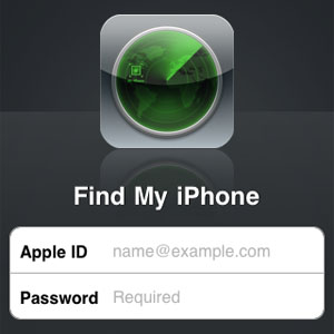 THE FIND MY IPHONE APP