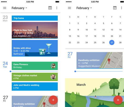 how to get google calendar icon on android phone