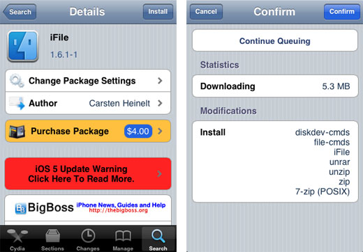 The Easy Way to Install Mobile Terminal on iPhone iOS 4 / iOS 5