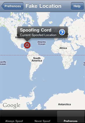 spoof location iphone your iphone location data with location spoofer the 6254