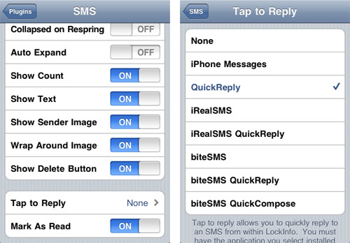 hide my text messages app iphone