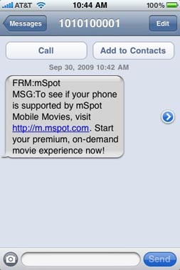 iphone streaming movie rental mspot