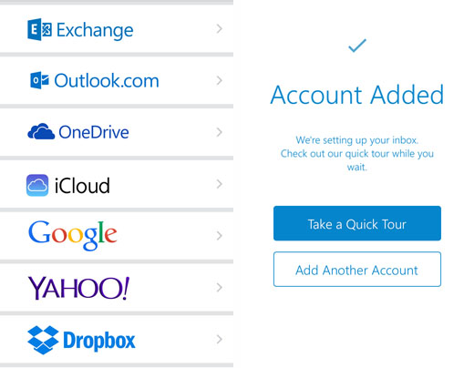 Microsoft Outlook client iOS launch