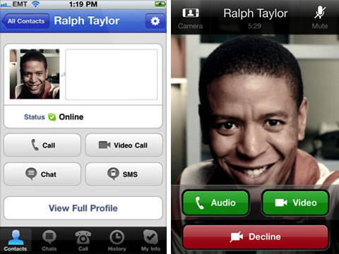 apple iphone skype 3g video calling app released