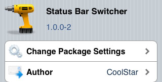Keep status bar with switcher